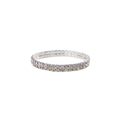 Picture of BRACCIALE DIAMOND 2 LINEE CLEAR