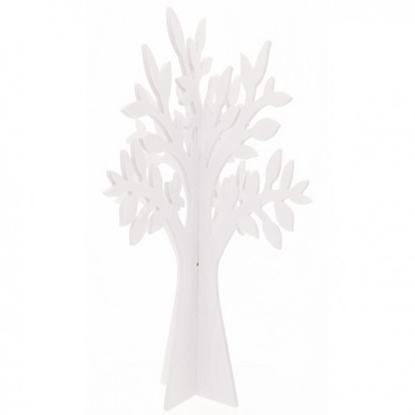 Picture of ALBERO LEGNO DOPPIO WHITE CM. 150