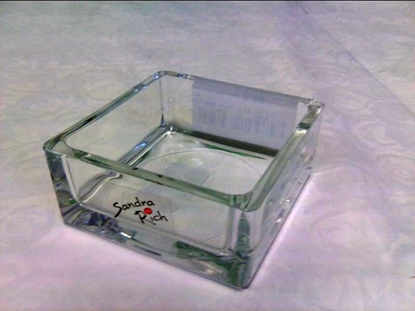 Picture of SQUARE BOWL H.3,5 CM/ 8X8 CM.