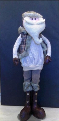 Picture of BABBO NATALE BEIGE 82 CM.