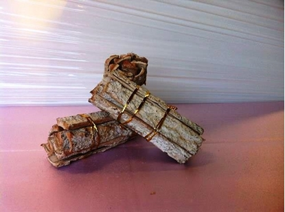 Picture of BARK BUNDLE 3O CM. X 6 PZ. WHITE WOSCH
