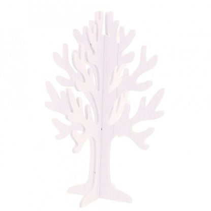 Picture of ALBERO VITA CURVE DUO WHITE H.55 CM
