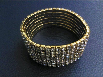 Picture of BRACIIALE STRASS 7 FILI ORO