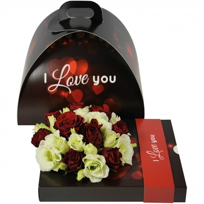 Picture of OASIS® floxi uni color i love you 22,5x17,5x3,2 cm.