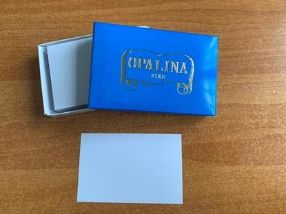 Picture of BIGLIETTI OPALINA formato 4 CF. 100 PZ.