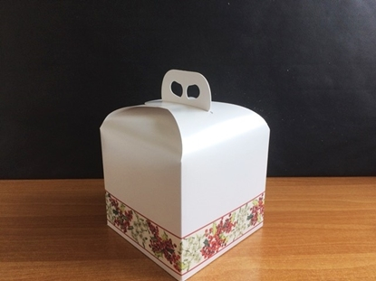 Picture of PANETTONE 200X200X180 BIANCO NATALE
