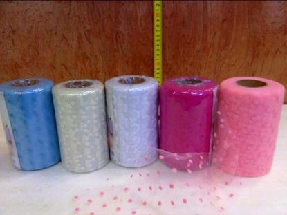 Picture of TULLE POIS H. 12,5 CM. X 25 MT
