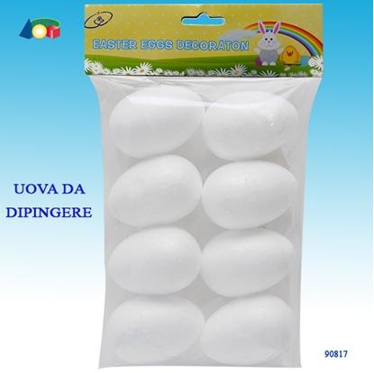 Picture of BUSTA C/8 UOVA BIANCHE DA DIPINGERE