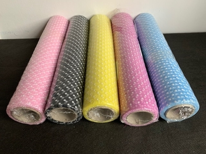 Picture of ROTOLO TULLE POIS H. 29 CM.  X 5 MT.