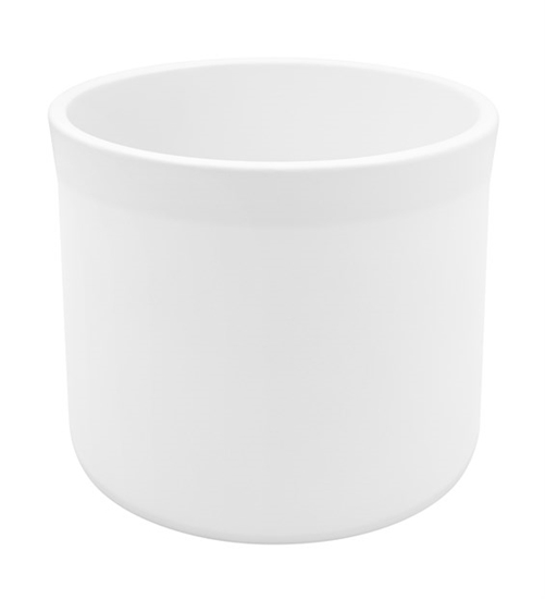 Picture of VASO CERAMICA MIAMI BIANCO H210 D240 int. H200 D220 mm