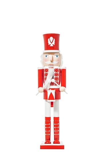 Picture of SCHIACCIANOCI LEGNO CM.11x10x51 RED/WHITE