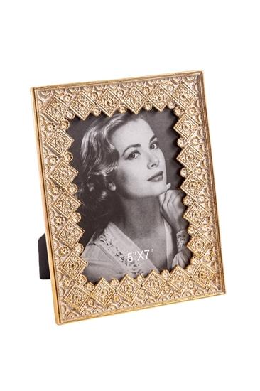 Picture of PORTAFOTO RESINA GOLD CM.18x1,5x22