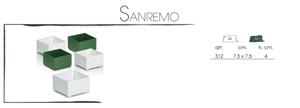 Picture of CIOTOLA SANREMO 7,5X7,5 CF. 12 PZ. BIANCA